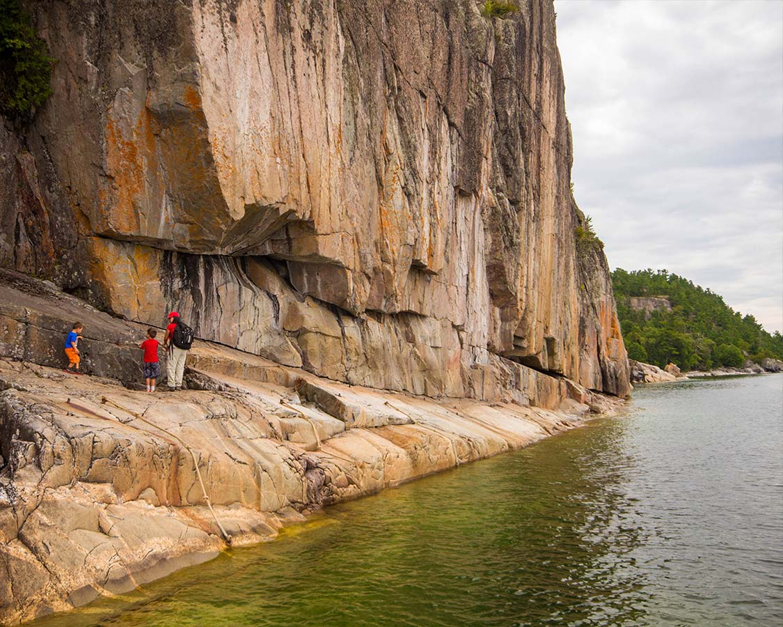 Things To Do in Lake Superior National Park Agawa Rock Pictographs