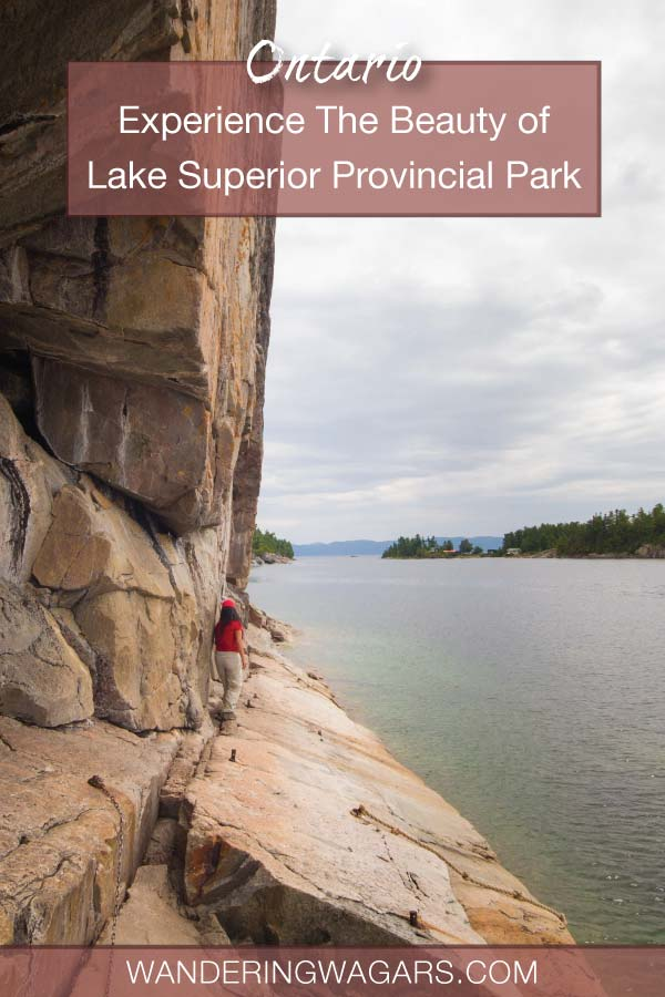 Whether you are just driving through, or looking to spend a few days, A Lake Superior Provincial Park camping trip is something you will never forget.