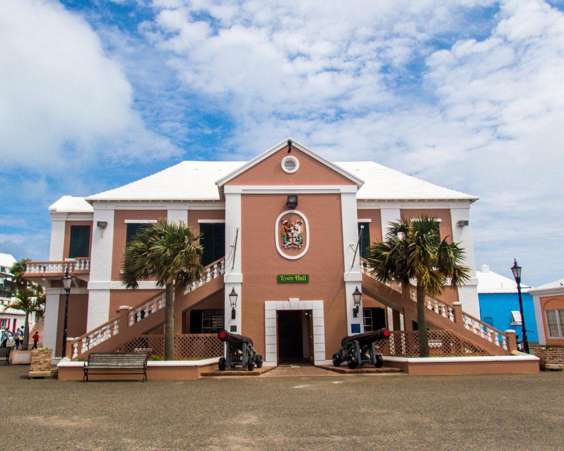 Town Hall in St. George Bermuda