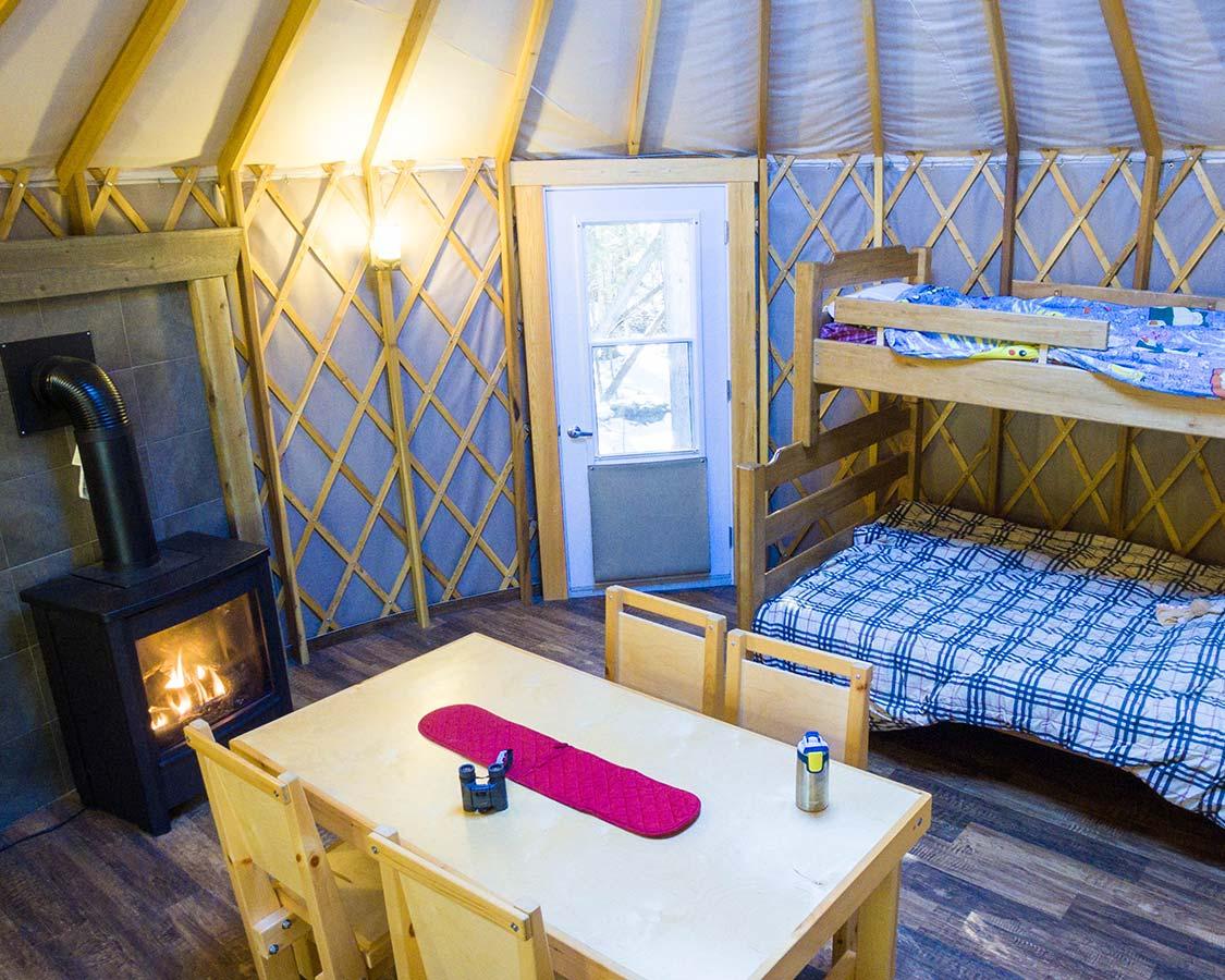 Yurt Camping at Bruce Peninsula National Park
