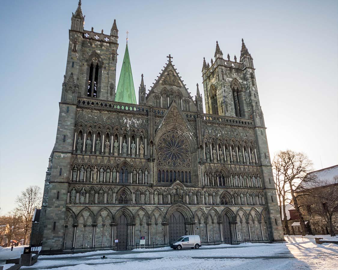 Hurtigruten Excursion Nidaros Cathedral in Trondheim