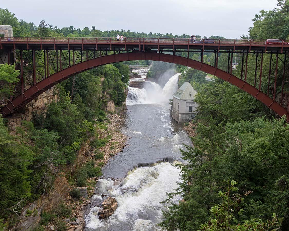 Ausable Chasm Bridge