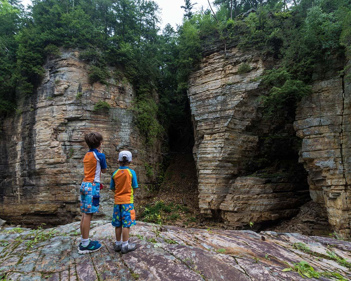 Ausable Chasm Elephant Rock