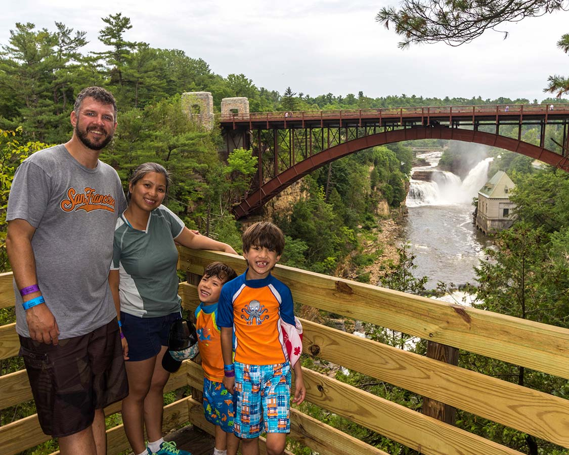 Ausable Chasm Viewpoints