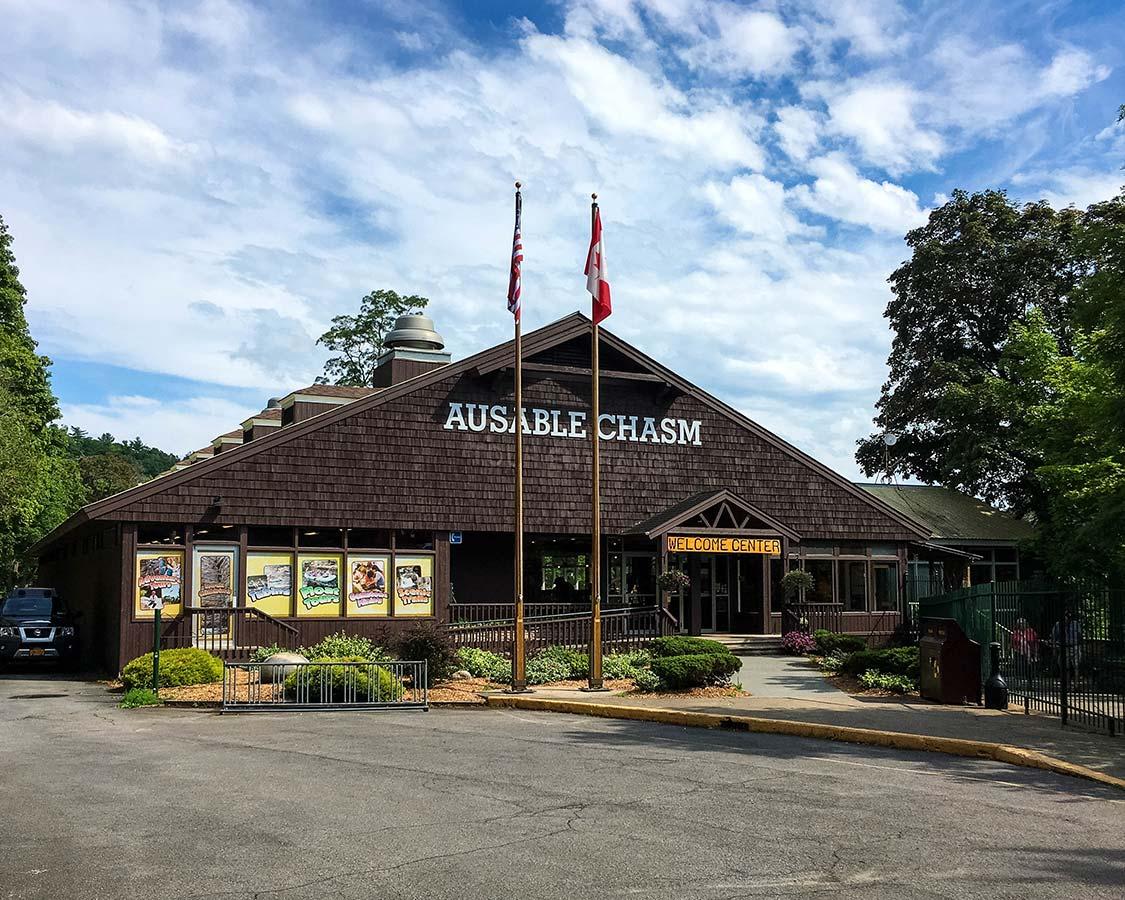Ausable Chasm Visitors Center