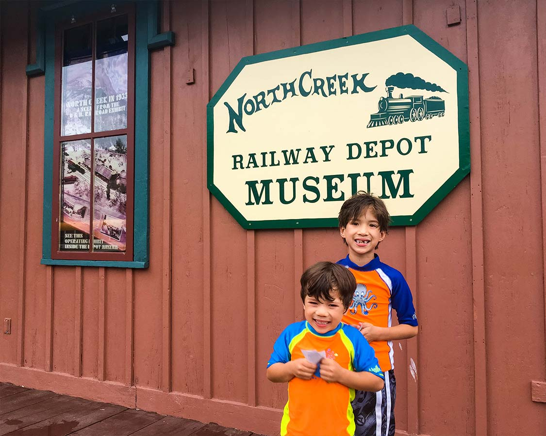 North Creek Railway Depot Museum