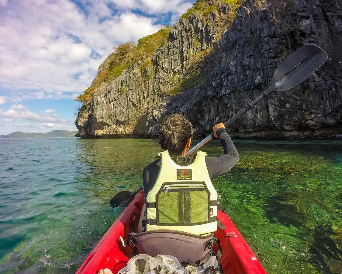 Coron Island Tour Kayak Twin Lagoon