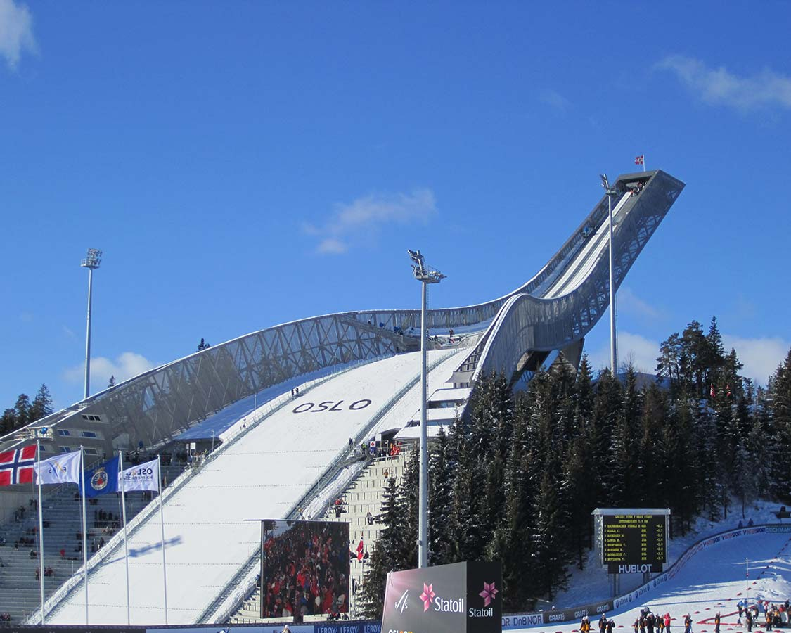 Things to do in Oslo Norway Holmenkollen Ski Jump