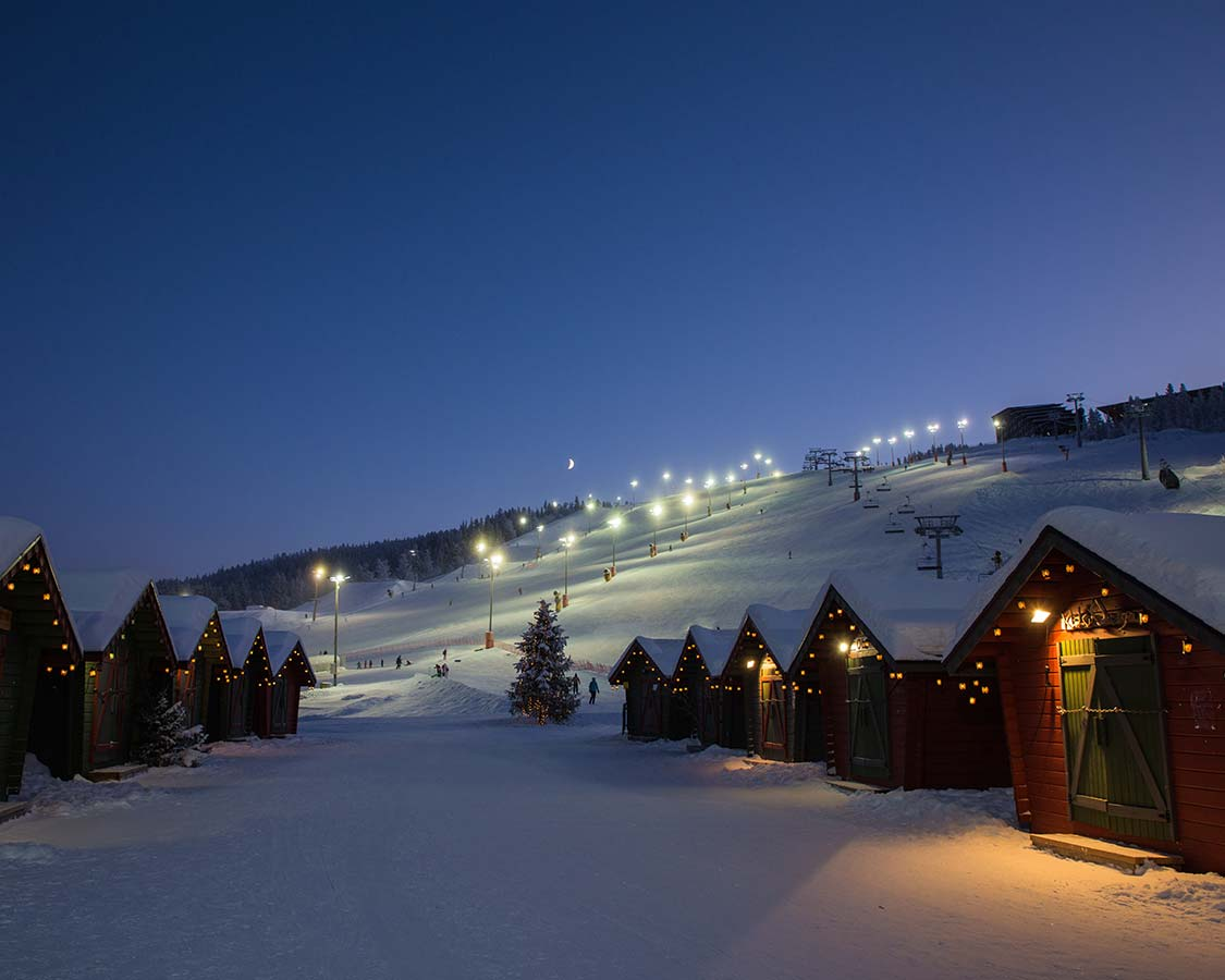 Christmas In Lapland Finland Levi Ski Resort