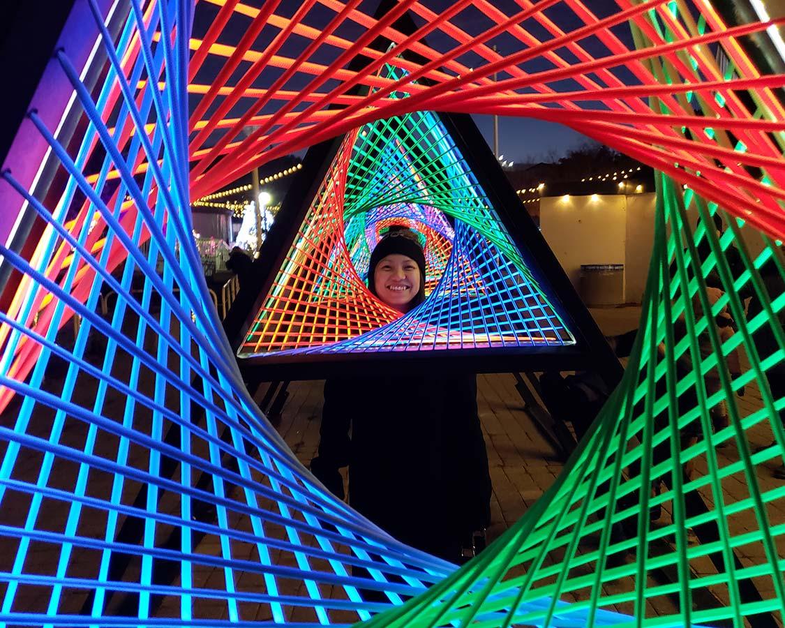 Ontario Place Winter Lights Toronto