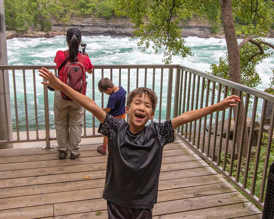 White Water Walk Niagara Falls Ontario