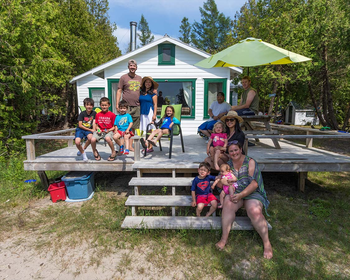 Family weekend in Sauble Beach Ontario