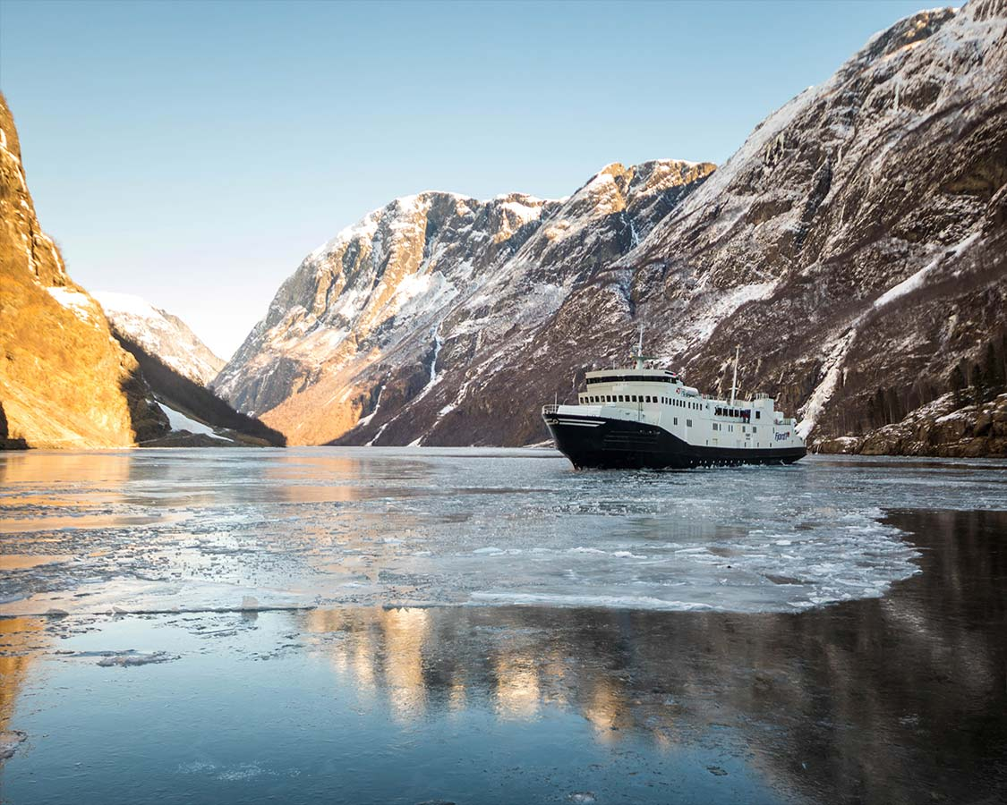 Winter in Norway Flam Fjord Tours