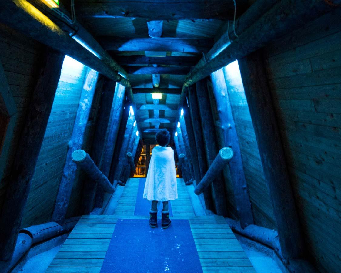 Inari Finland Ice Swimming
