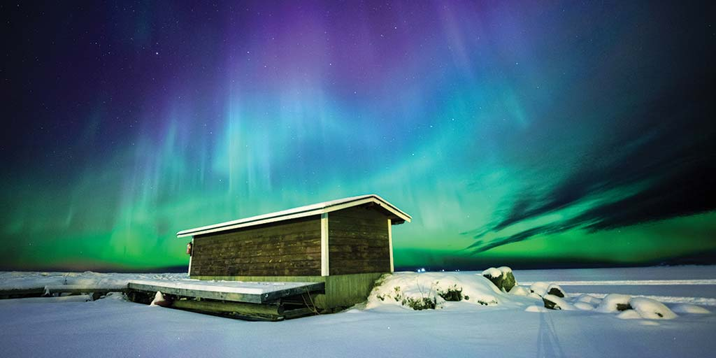 Experience genuine Lapland winter in Inari Finland with incredible things to do in Inari such as reindeer sleigh rides, northern lights, and Lappish cuisine