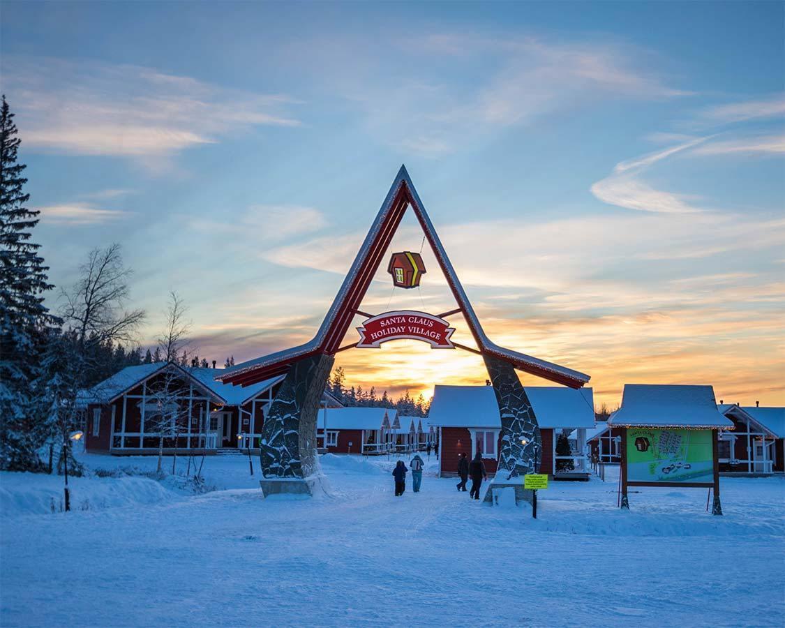 Santa Claus Holiday Village near Santa Park Finland