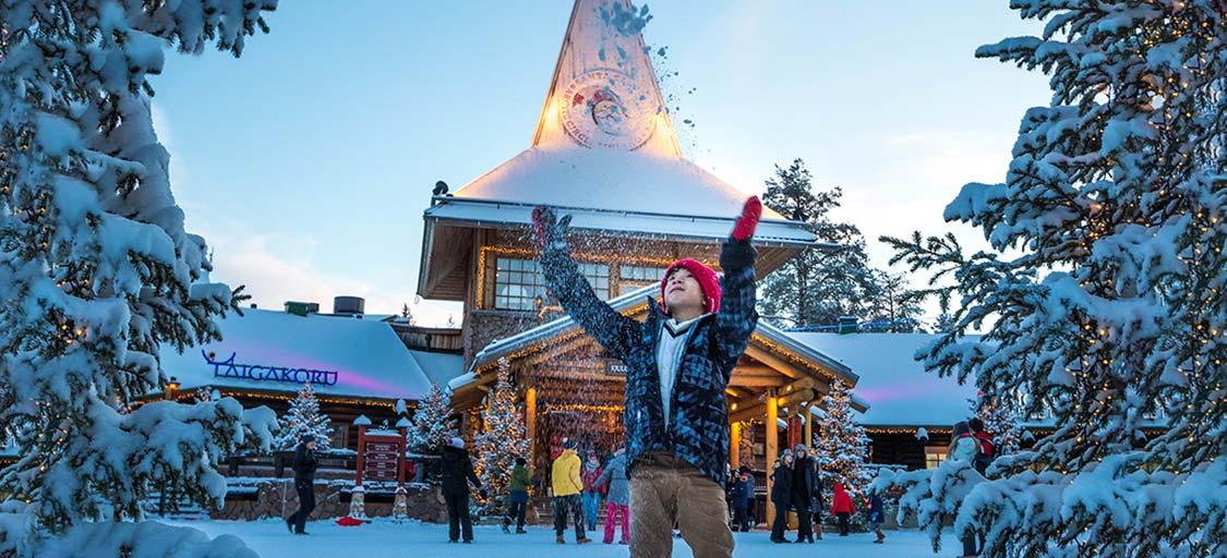 Santa Claus Village Guide Finland
