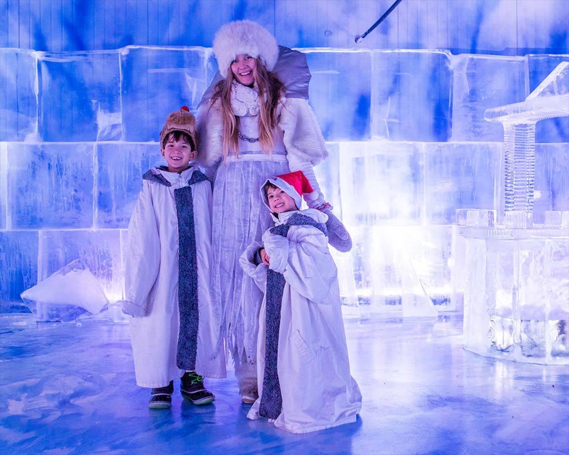 Santa Park Ice Gallery Princess