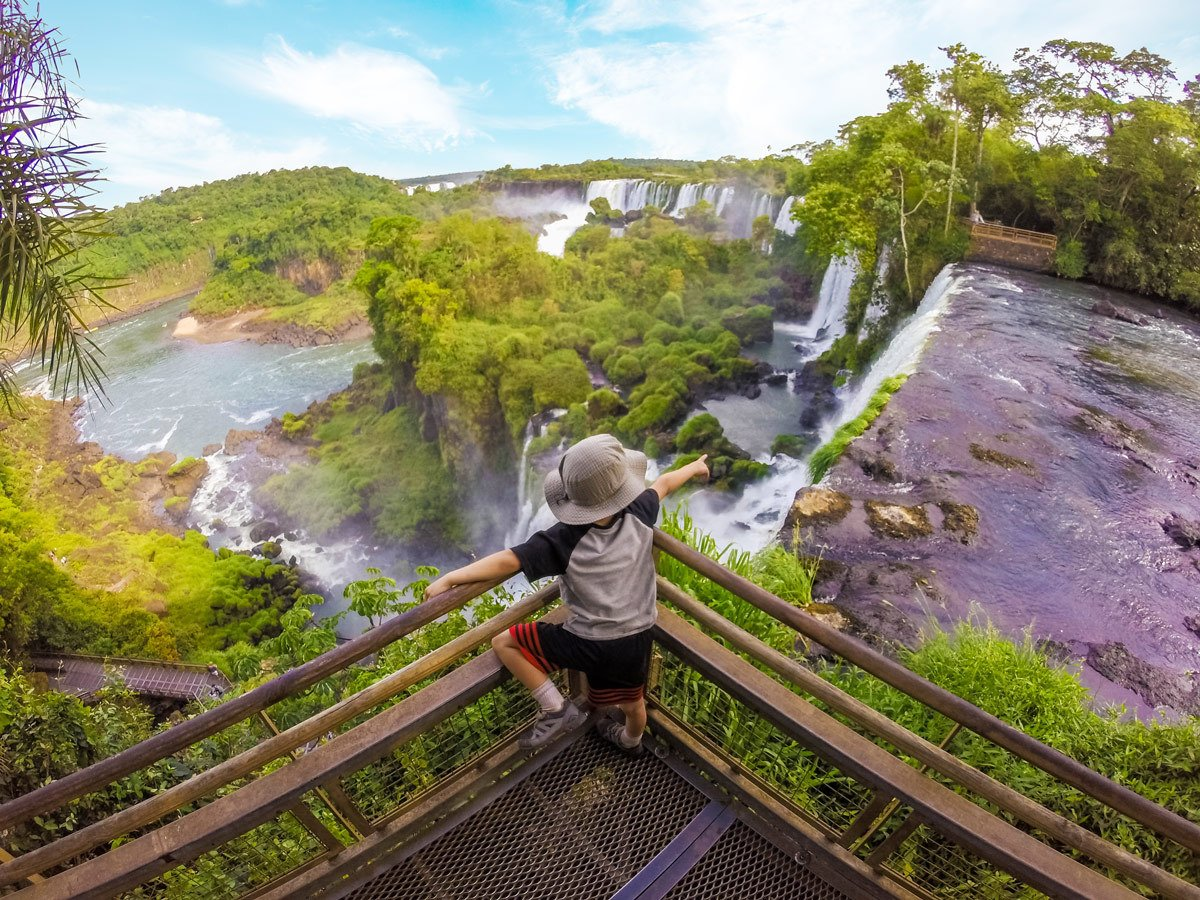 Adventure Family Travel Iguazu Falls Argentina