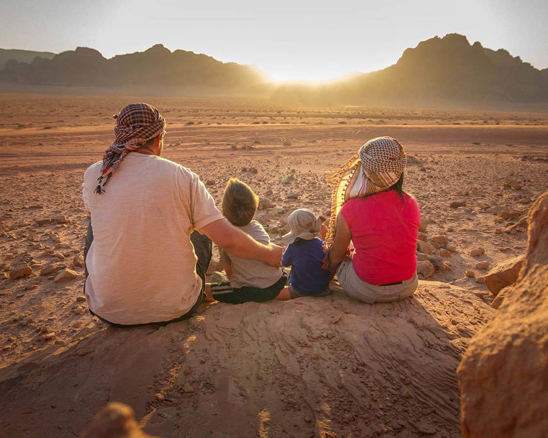 Adventure Travel For Families Wadi Rum Jordan