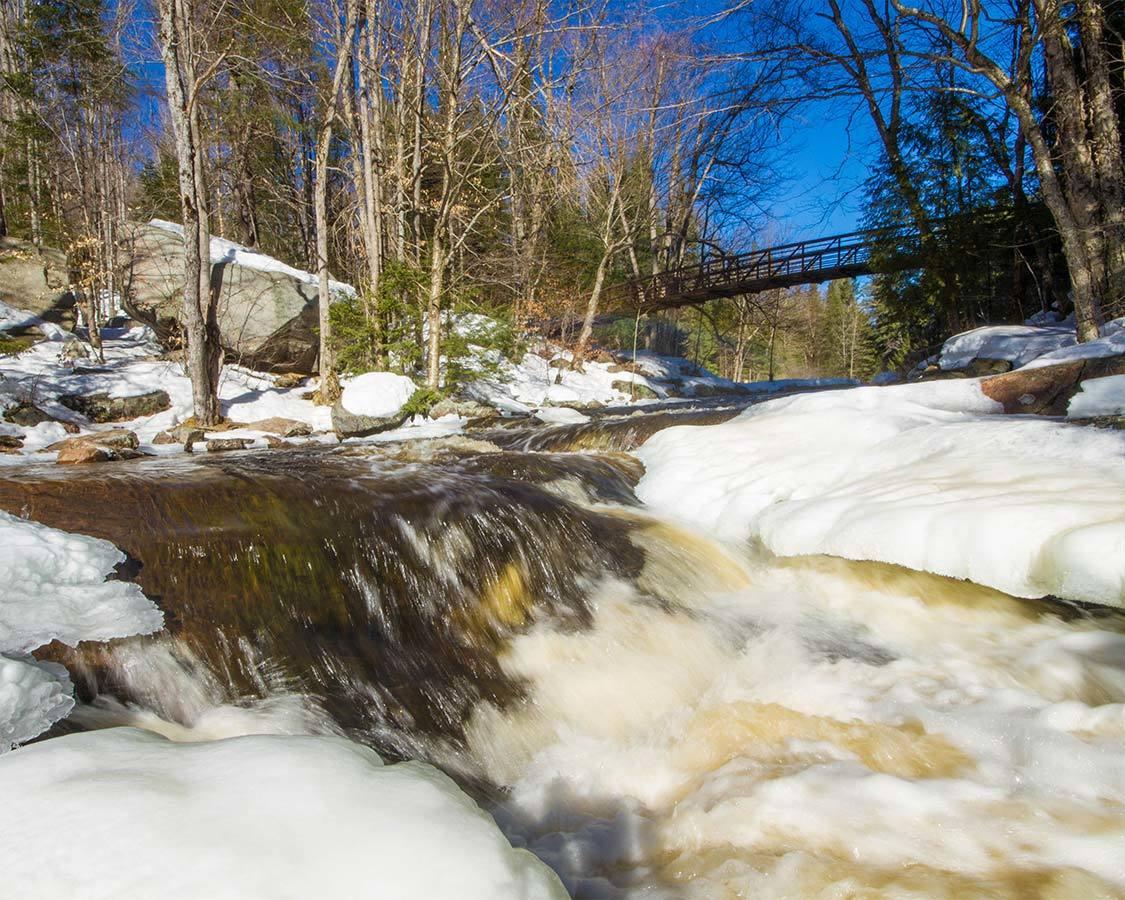 Arrowhead Stubbs Falls Snowshoe Trail