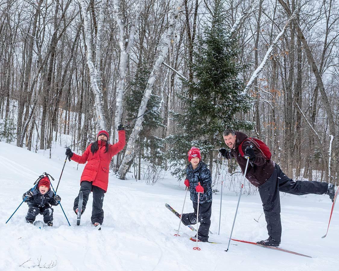 Cross Country Ski near Titus Mountain