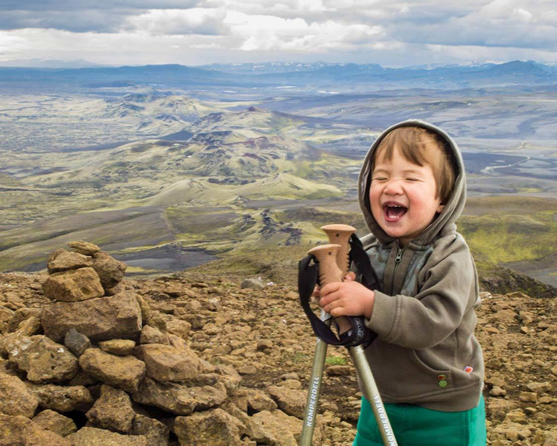 Family Adventure Travel Hiking With Kids