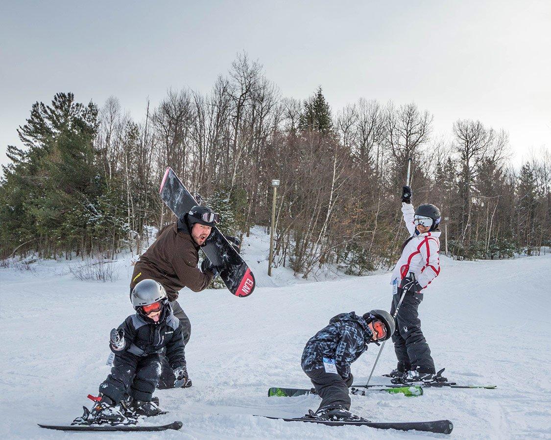 Family Friendly Ski Resort In New York Titus Mountain