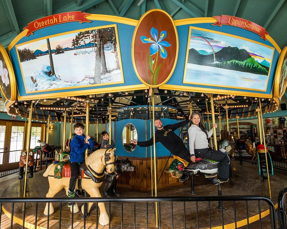 Tupper Lake To Saranac Lake Adirondack Carousel