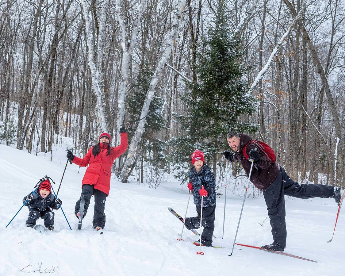 Arrowhead Provincial Park cross country ski trails