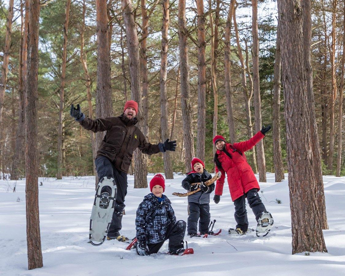 Adirondack Winter Snowshoeing Wild Center