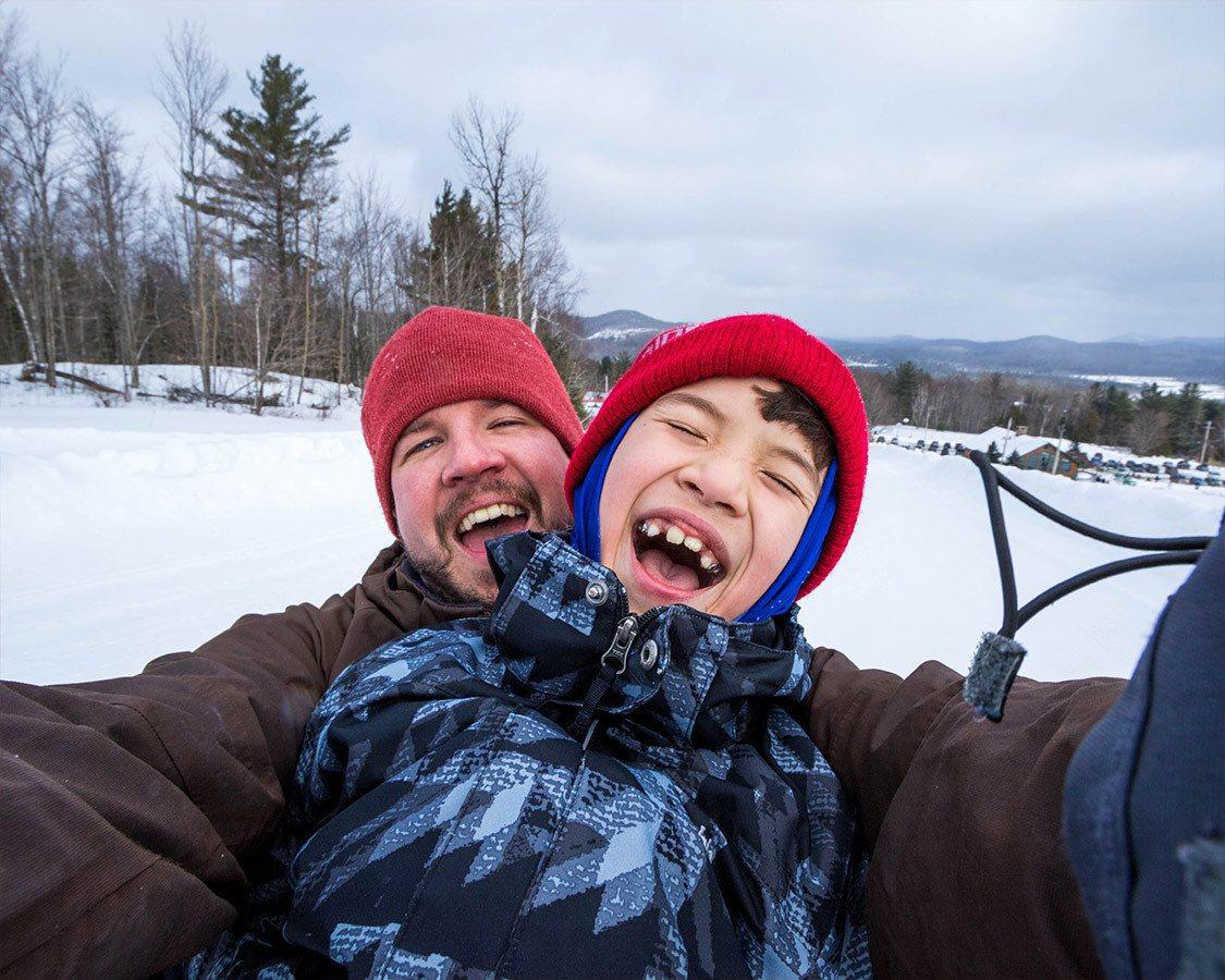 Adirondack Winter Tubing Mt Pisgah Saranac Lake