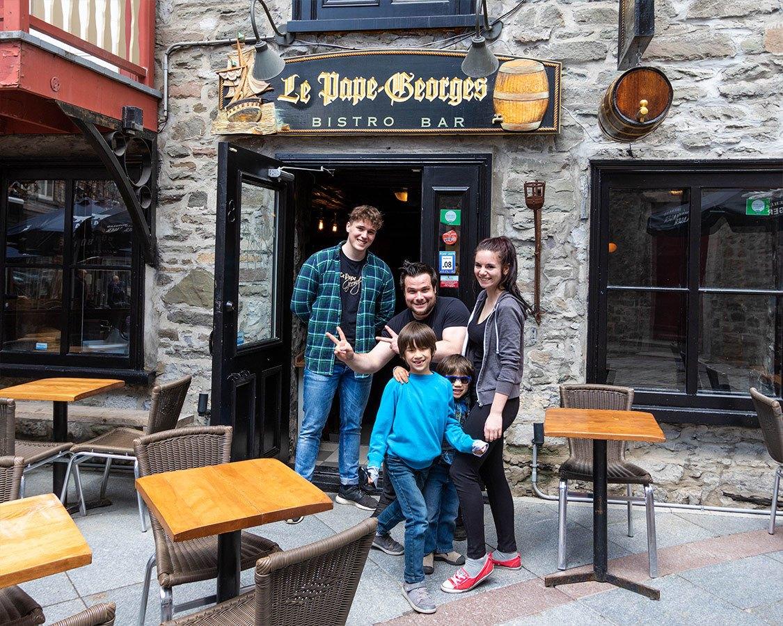Le Pape Georges Restaurant In Quebec City