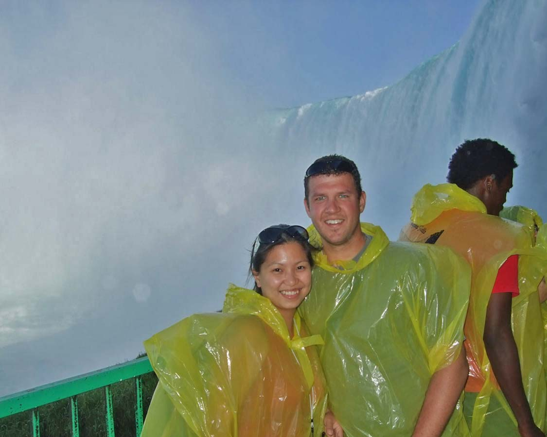 Niagara Falls with children Journey Behind The Falls attraction