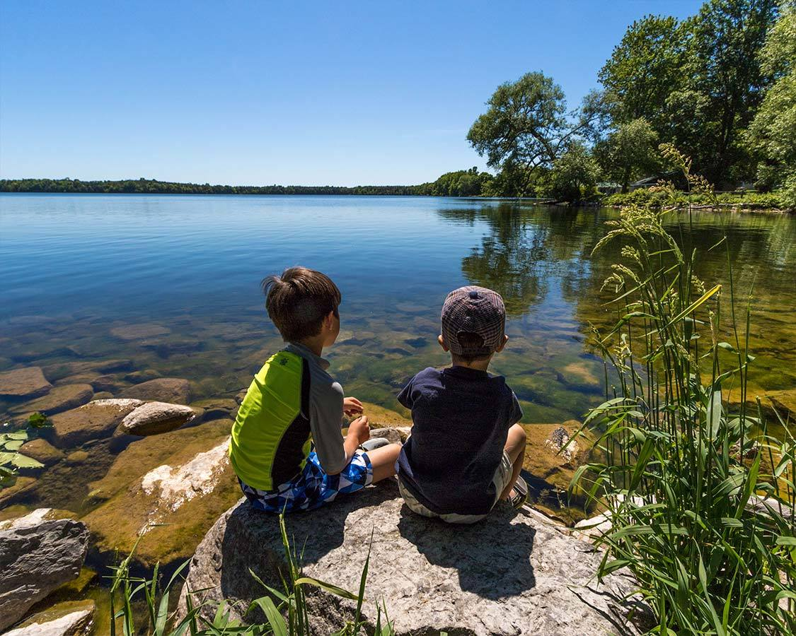 Prince Edward County For Kids at Lake On The Mountain