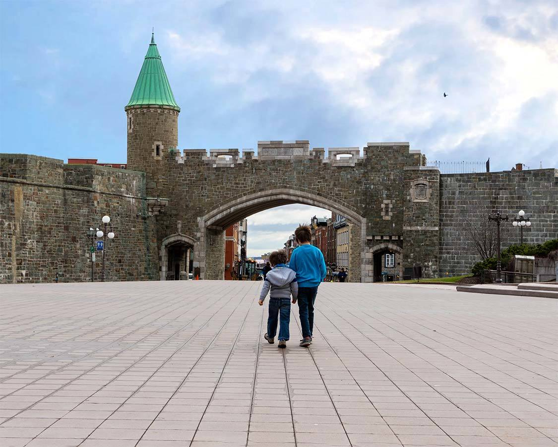 Quebec City Attractions Walls of Old Quebec