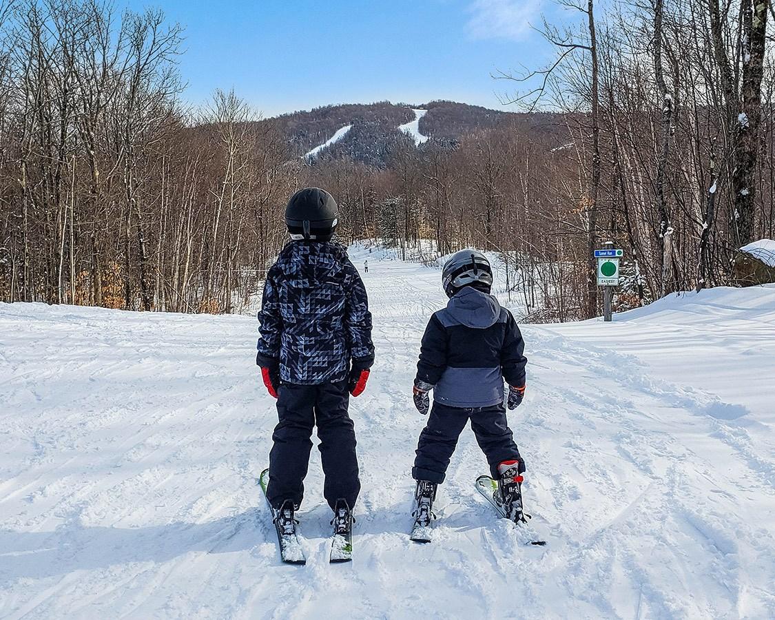 Winter In Adirondacks NY Ski Titus Mountain