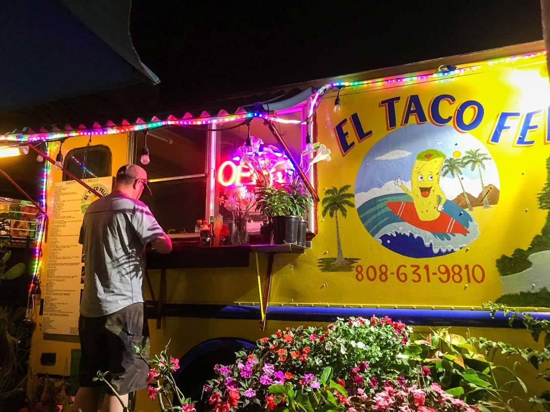 Food trucks in Kauai for kids El Tacos Feliz Kapaa