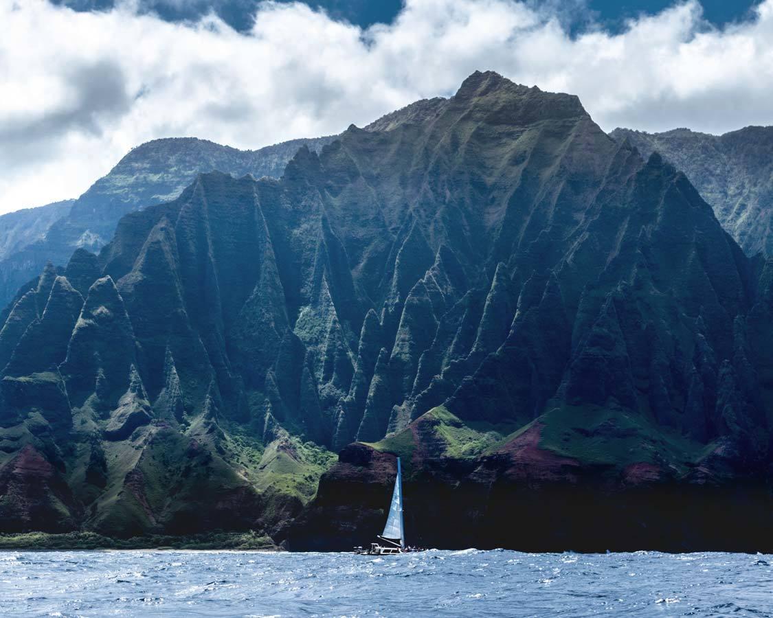 Na Pali Coast Kauai Adventures with kids