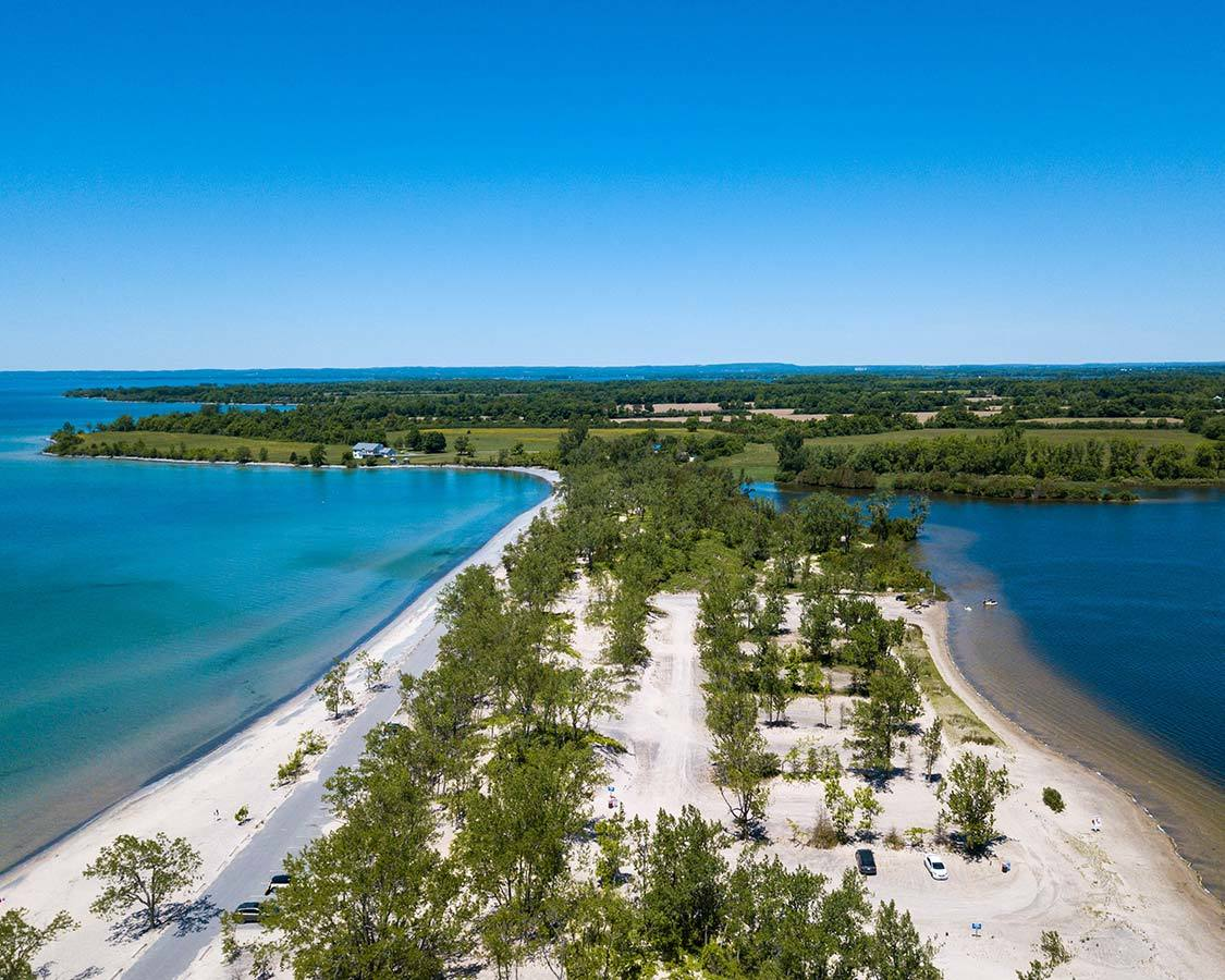 North Beach Provincial Park on a Toronto to Montreal Road Trip