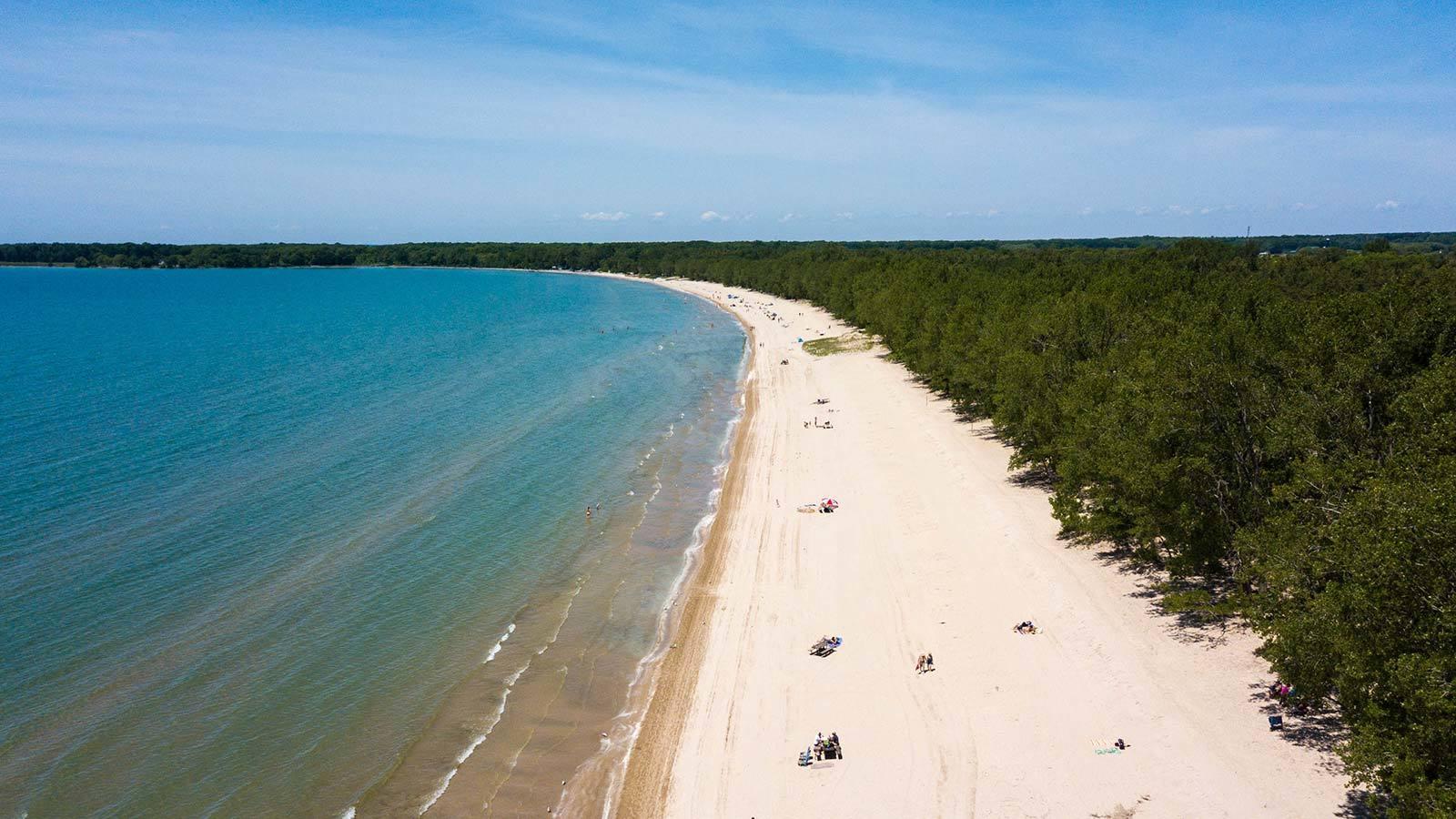 Sandbanks Beach Ontario