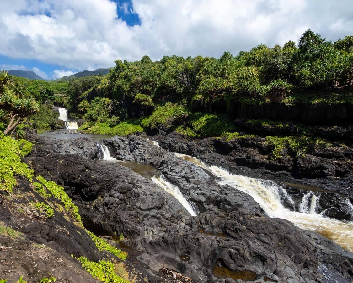 Haleakala State Park near Hana Maui itinerary