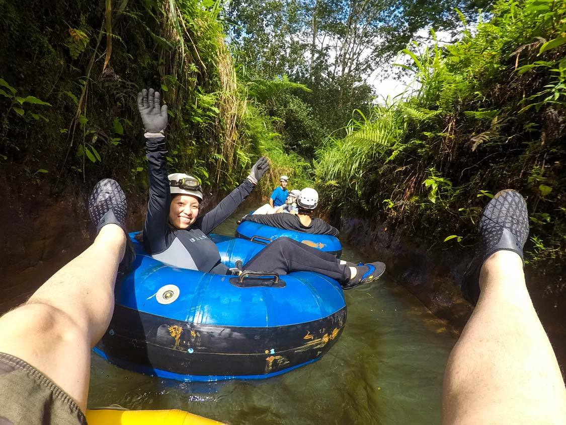 Kauai Mountain Tubing For Couples