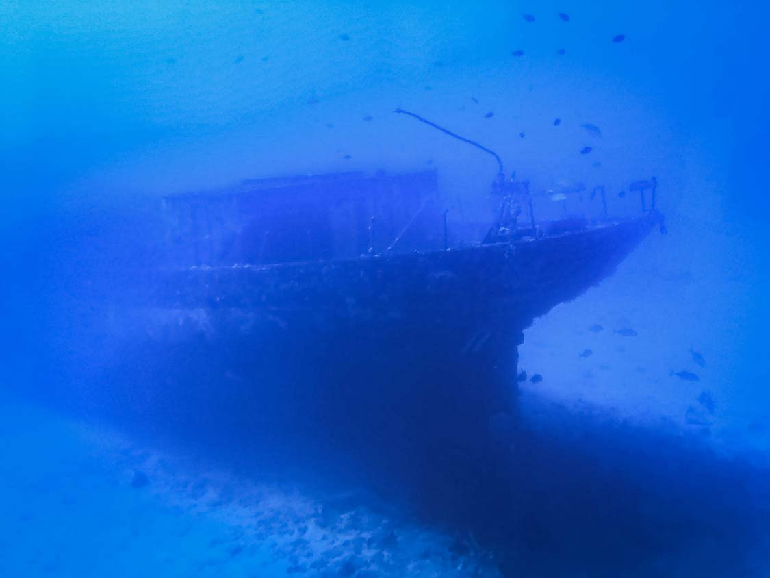 Shipwreck near Lahaina Maui
