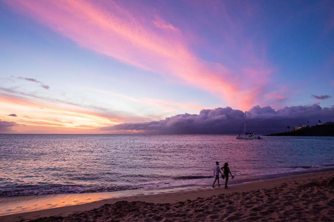 Sunsets for 7-days in Maui