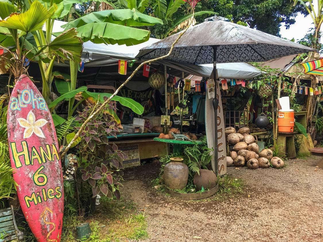 Nahiku Marketplace Road To Hana Food