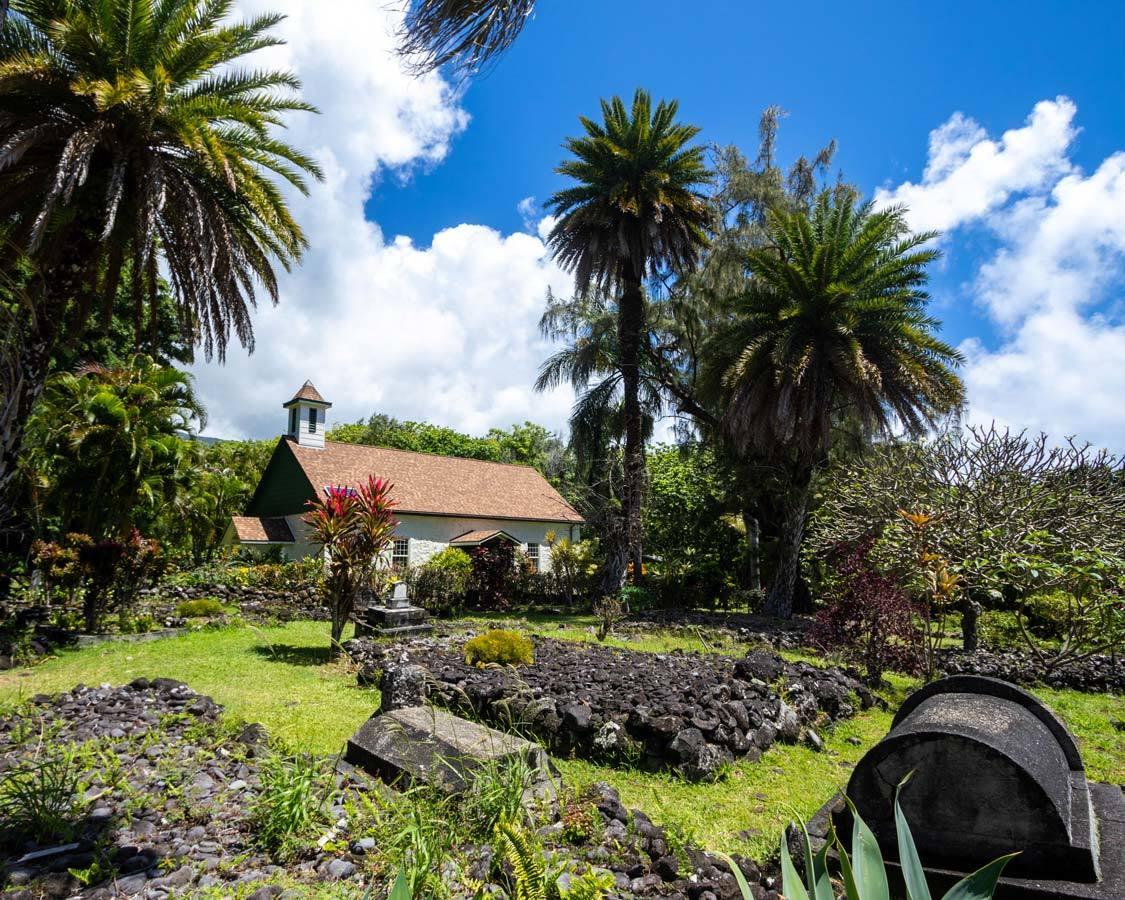 Palapala Hoomau Church Road To Hana Things To Do