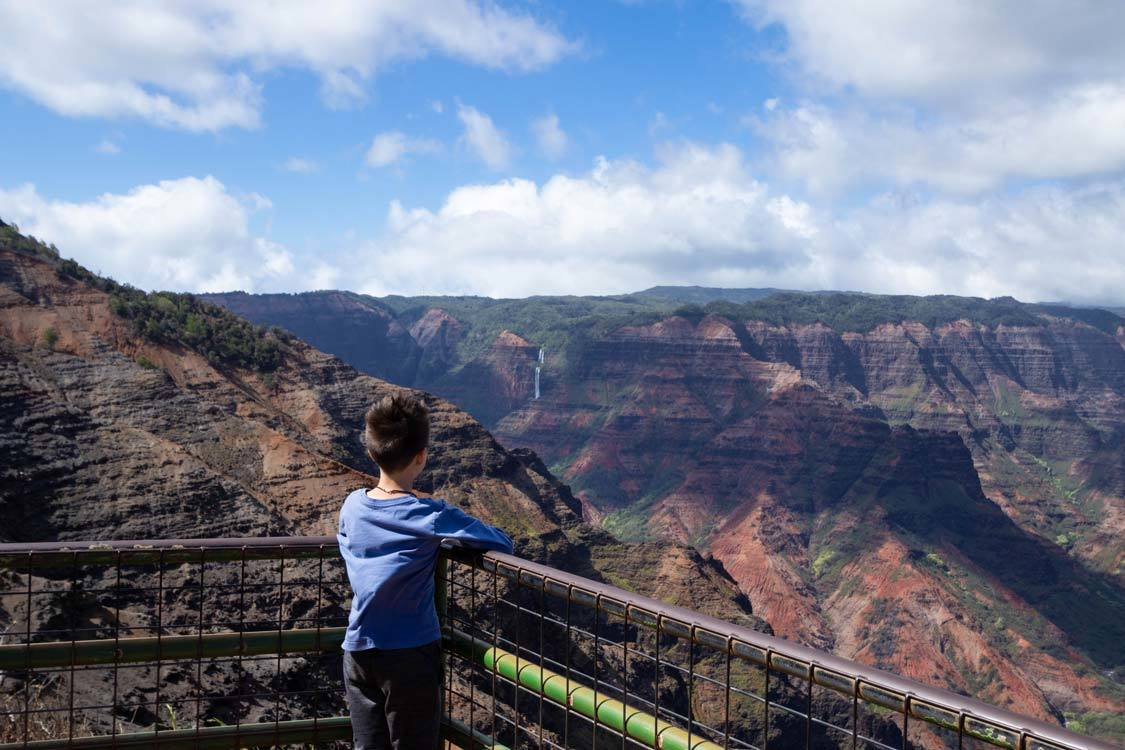 Puu Hinahina Lookout Waimea Canyon Kauai
