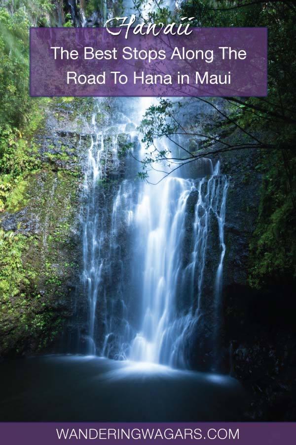 Road To Hana Stops Maui