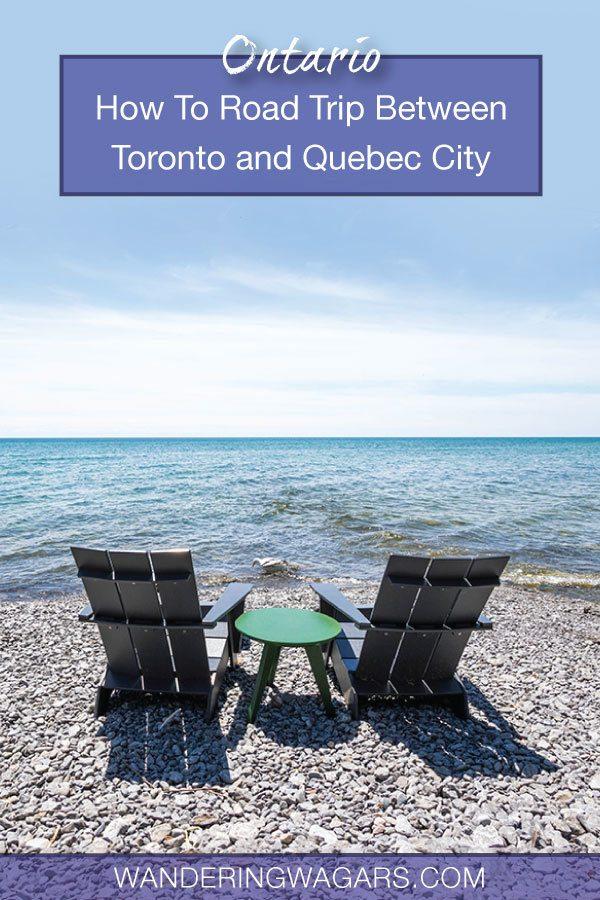 Toronto To Quebec City Road Trip